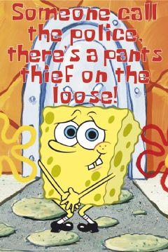 spongeBob-nopants