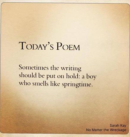Sarah Kay Poem